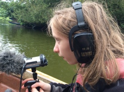joey-recording-on-boat