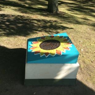 Sunflower installed